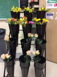 Class vase life study....